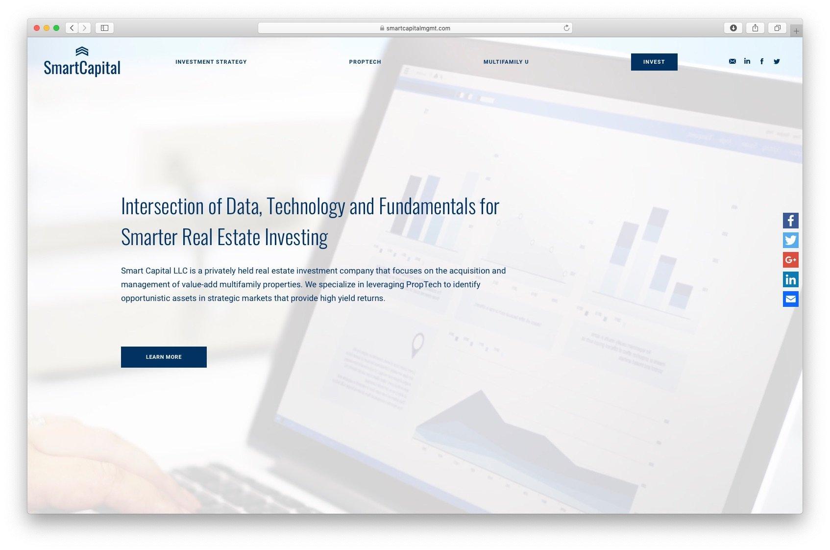 Smart Capital Web Design Whitelam Media