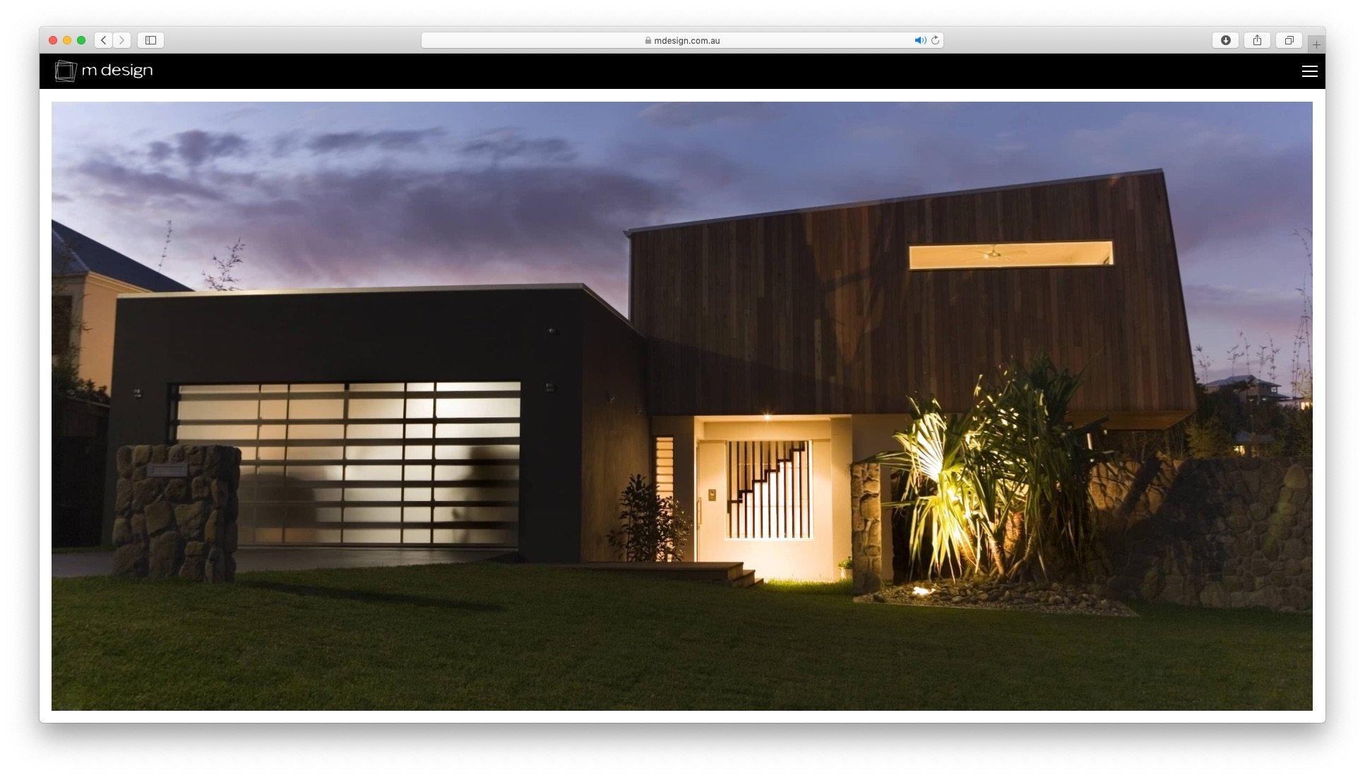 mdesign web design by Whitelam Media